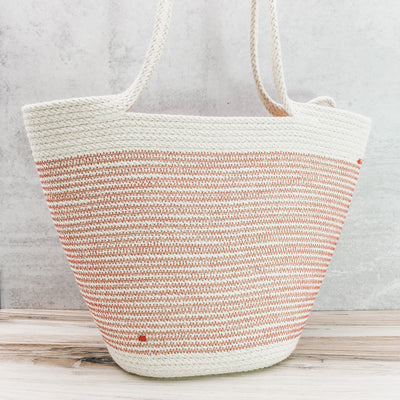Long-handled tote (red)