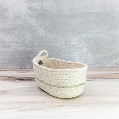 Tea basket (olive)