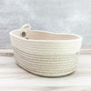 Thread oval basket