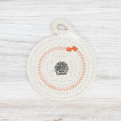 Coaster set (orange)