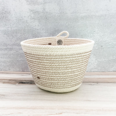Planter (taupe brown)