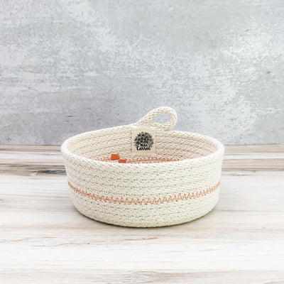 Trinket basket (orange)