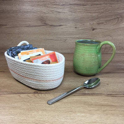 Tea basket (orange)