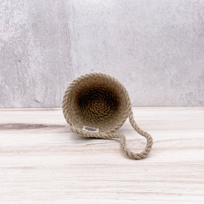 Hemp doorknob basket (10/100)