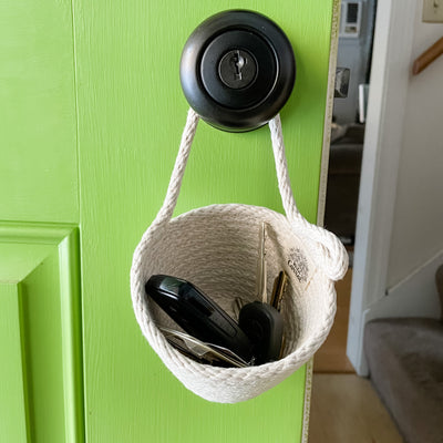 Doorknob basket