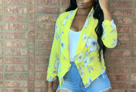 Tropical Party Blazer