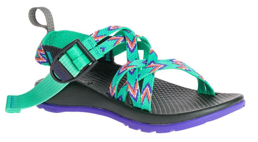 Kids ZX/1 Ecotread Sandals - MINT