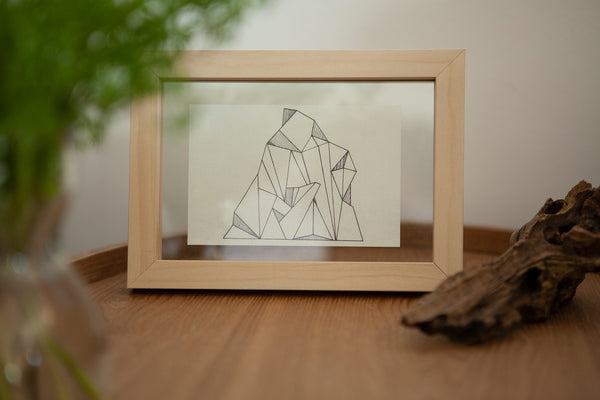 Rice mountain - Limited edition (incl frame)
