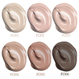 6 Colors BB Cream Concealer / Contour Dry / Wet / Combination Waterproof / Whitening / Wrinkle Reduction Foundation / Concealer Ammonia Free / Formaldehyde Free Makeup Cosmetic Liquid