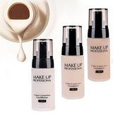 3 Colors Concealer Foundation 1 pcs Waterproof / Whitening / Oil-control Body / Face Waterproof Makeup Cosmetic