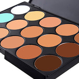 15 Colors Concealer Cream Concealer / Contour 1 pcs Dry / Wet / Matte Waterproof / Breathable / Whitening Body / Face Makeup Cosmetic