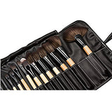 32pcs Professional Makeup Brush Set Foundation Powder Eyeshadow Lip Blush Brush Kit with Bag