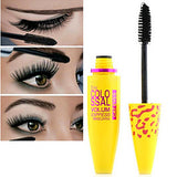 Black extension length long curling eyelash mascara Makeup Tools Extended Lifted lashes Long Lasting Curly Waterproof Thick lasting High Quality Mascara Daily Daily Makeup