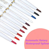 10pcs-automatic-rotary-natural-lip-liner-long-lasting-makeup-sexy-products-lady-beauty-red-lip-pencil-waterproof