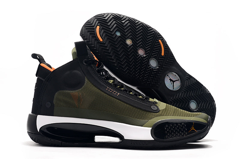 "Air Jordan XXXIV ""Olive Green / Black / White"""