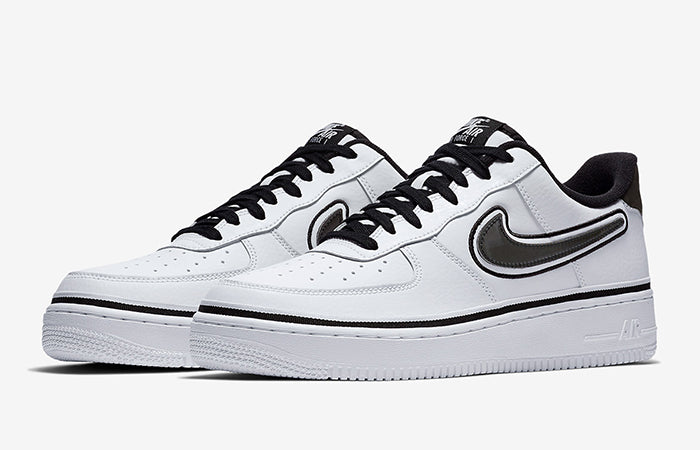 Nike Air Force 1 Low Sport NBA White Black