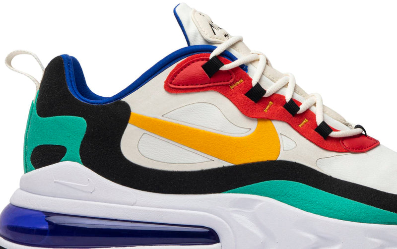 "Nike Air Max 270 React ""Bauhaus"" Wmens"