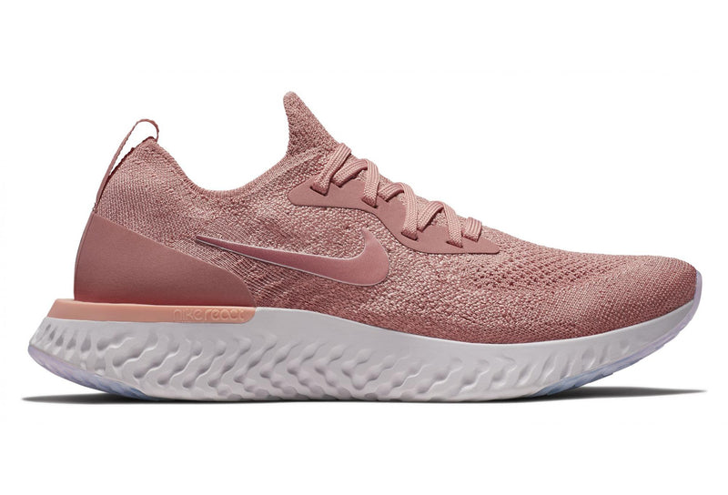 "Nike Epic React Flyknit ""Rust Pink"""