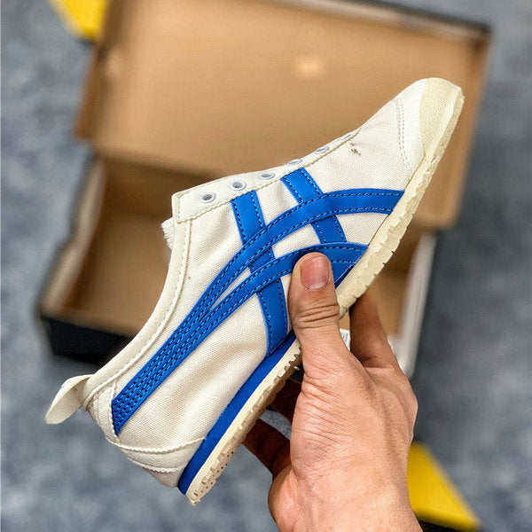 Onitsuka Tiger MEXICO 66 Canvas Beige/Blue [Unisex]