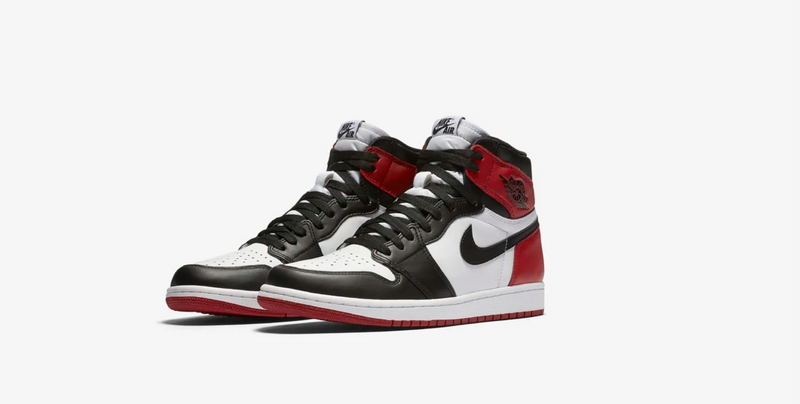 AIR JORDAN I BLACK TOE
