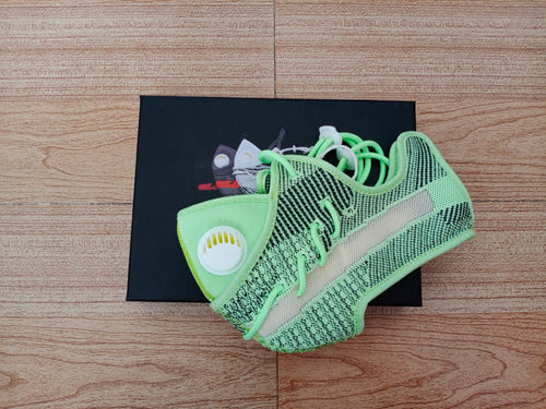 "Yeezy Boost V2 ""Neon Green"" Face Masks"