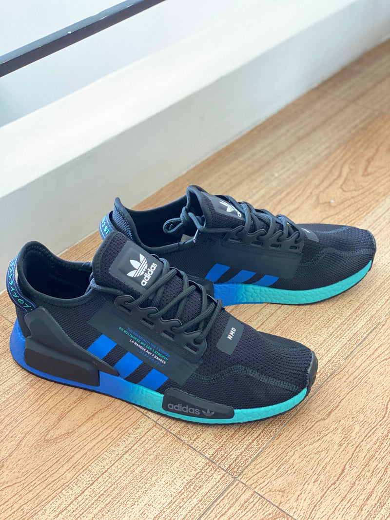 "NMD REFLECTIVE ""BLUE GREEN"""