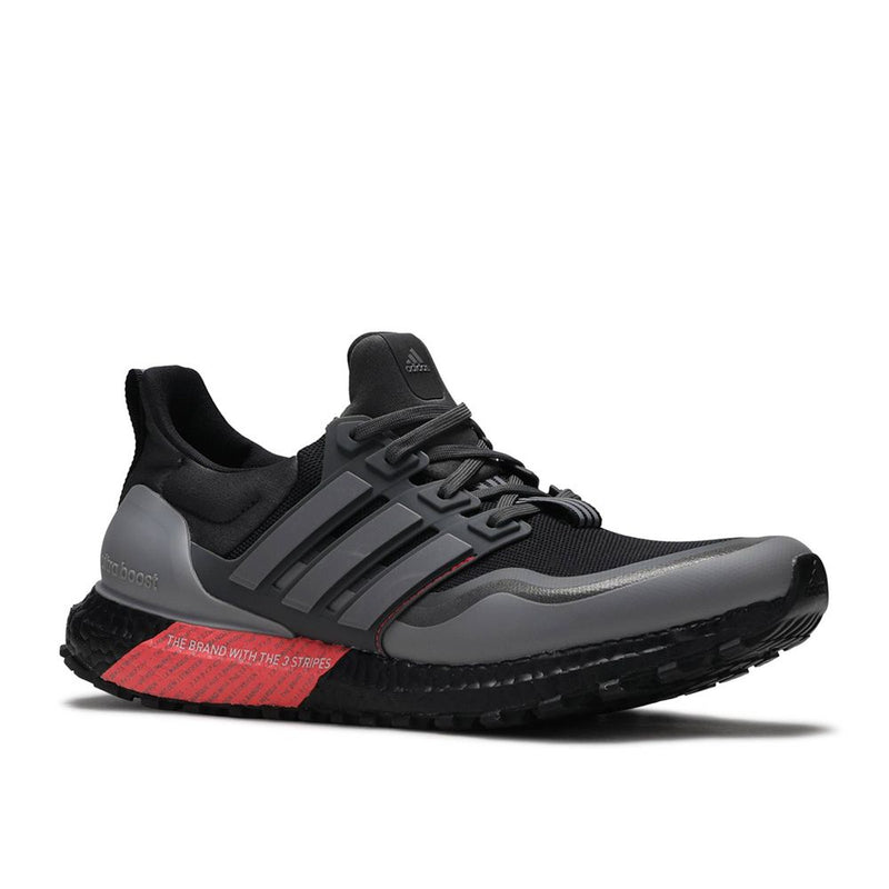 ULTRA BOOST ALL TERRAIN (BLACK/SHOCK RED)