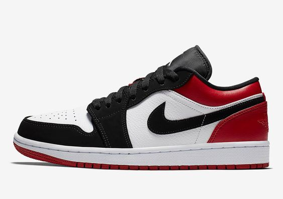 "Jordan 1 Low ""Blacktoe"" Women's"