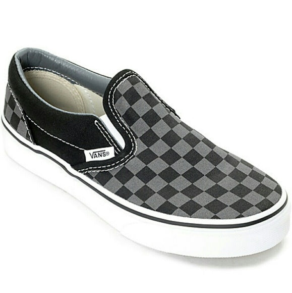 VANS GRAY CHECKERED MEN