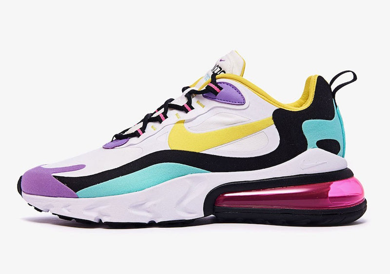 "Airmax 270 React ""White / Dynamic Yellow"