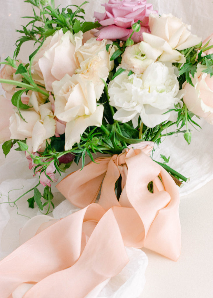 Pink Bouquet Ribbon for Weddings