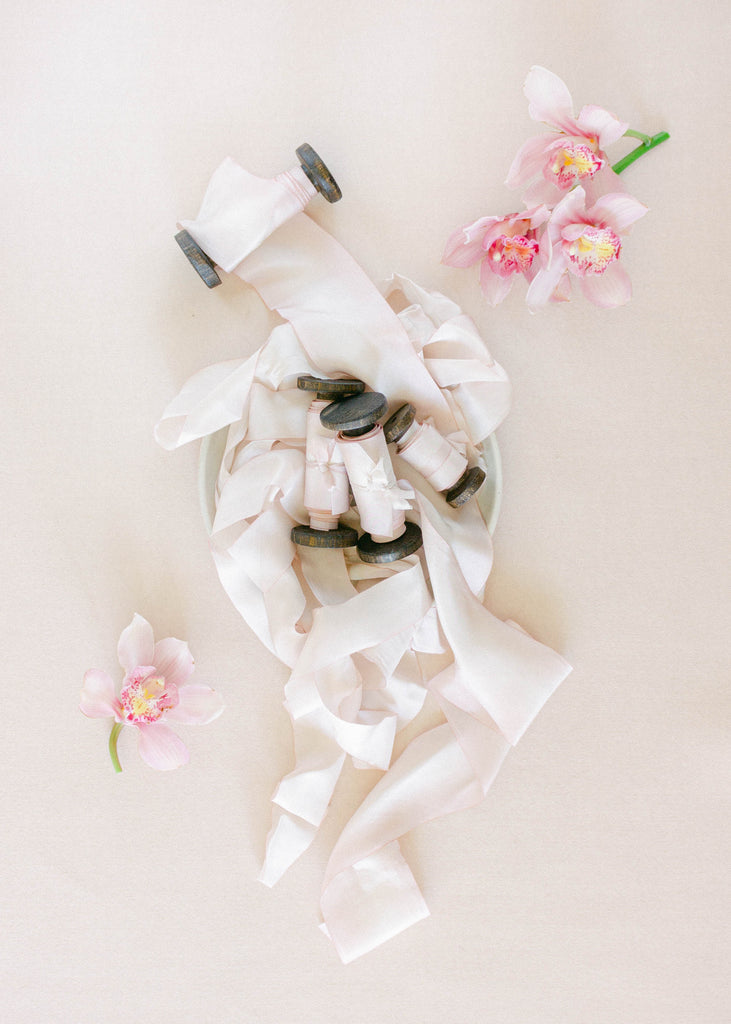 Pink Silk Styling Ribbon