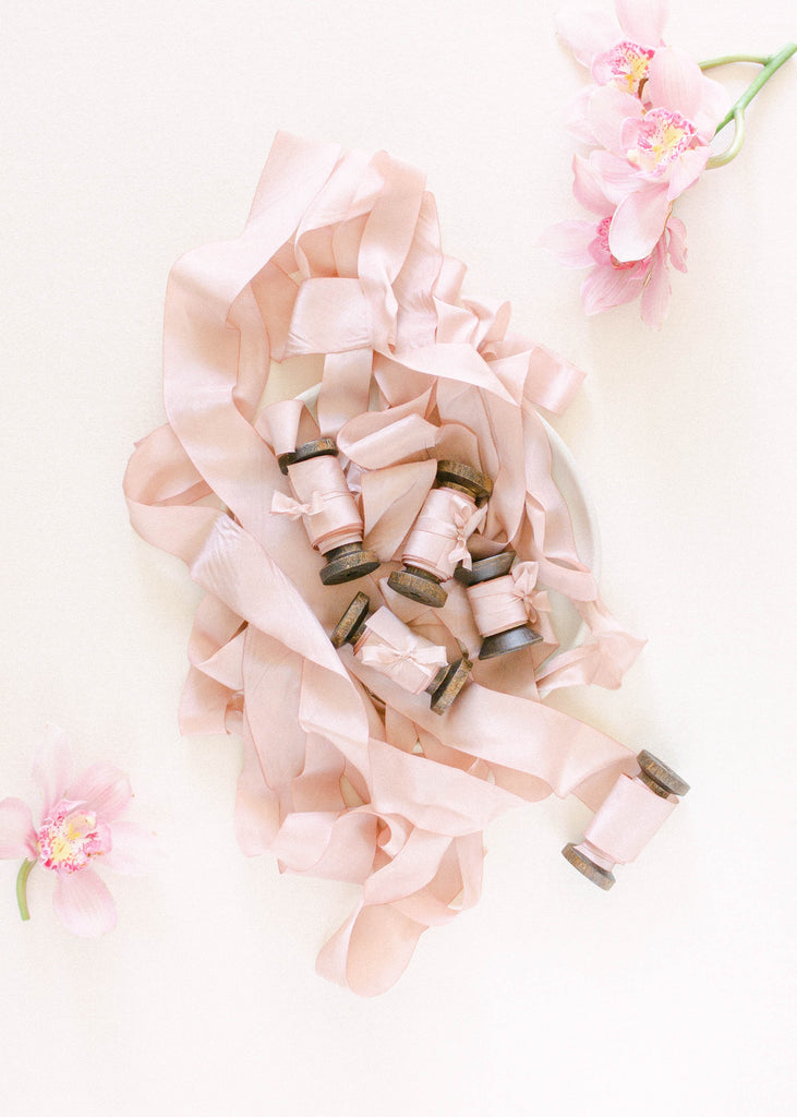 Mauve Silk Ribbon