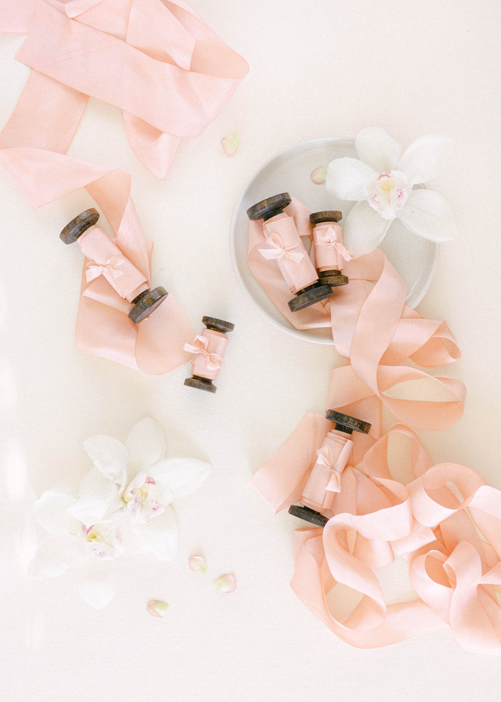 Pink Ribbon for Weddings and Stationery