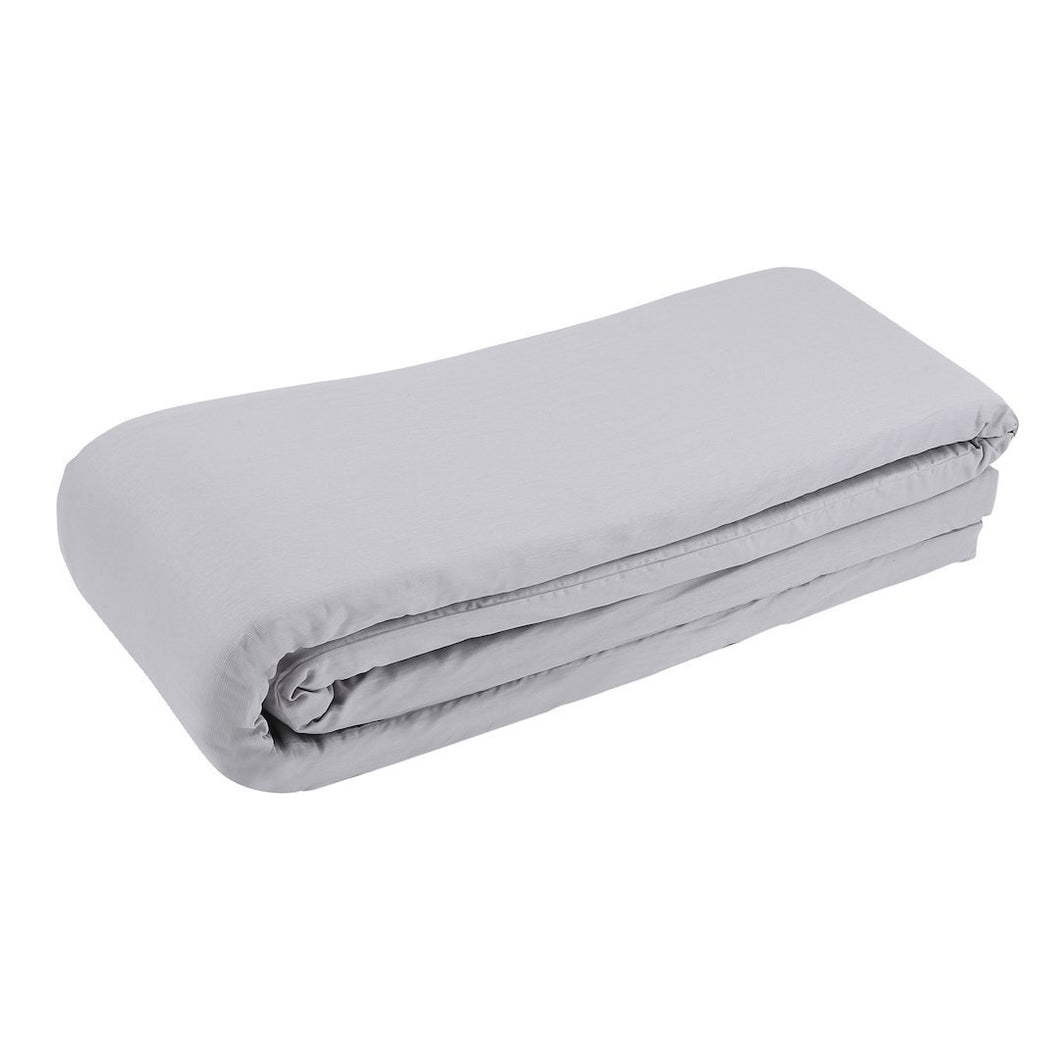 Bed Bumper Cot Grey