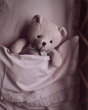 Load image into Gallery viewer, Bedding Baby Dusty Rose Ruffle