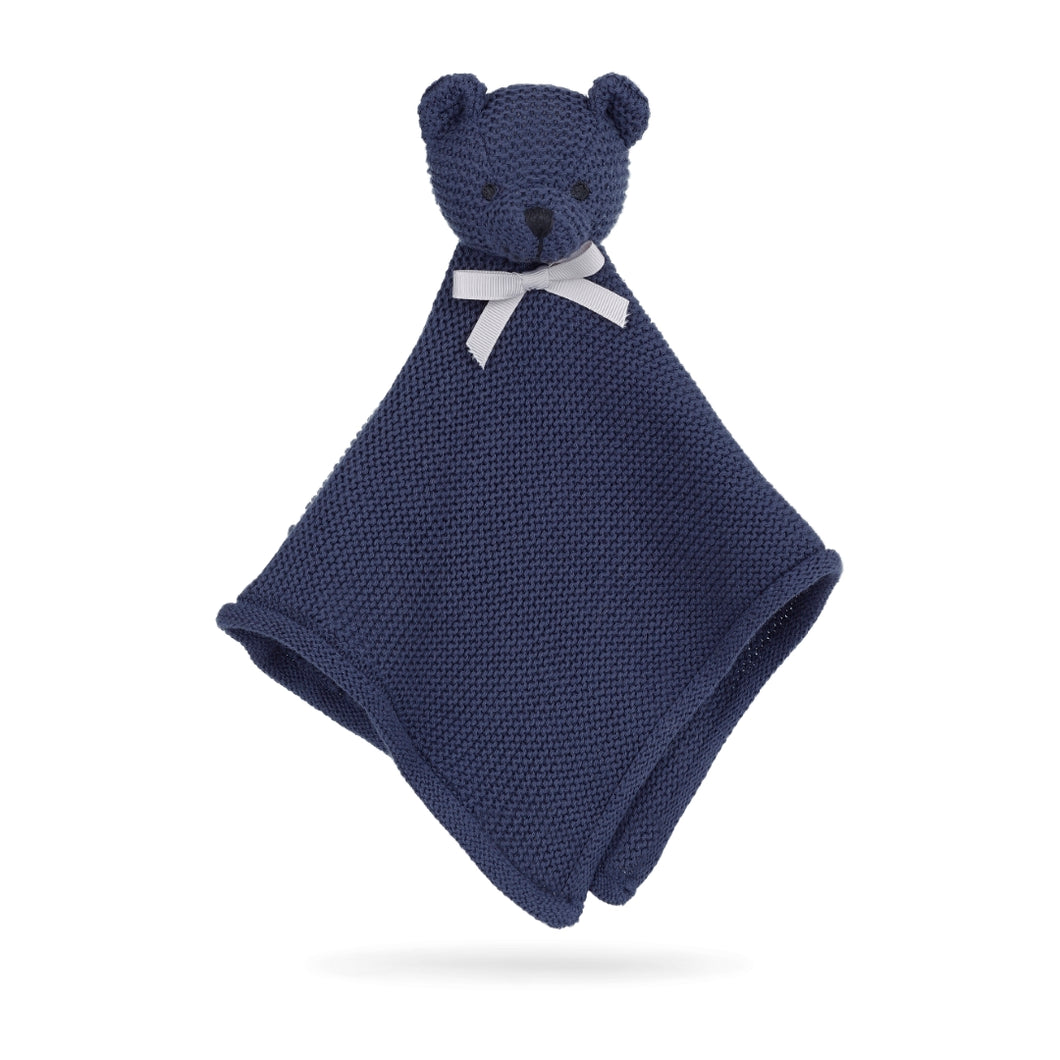 Cuddle Cloth Little Teddy Blue