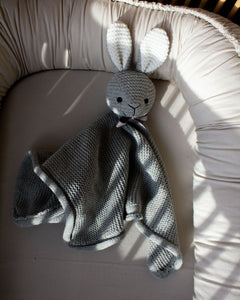Cuddle Cloth Little Bunny Grey Dune GOTS