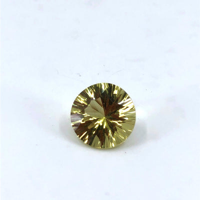 Round Brilliant Cut Lemon Quartz