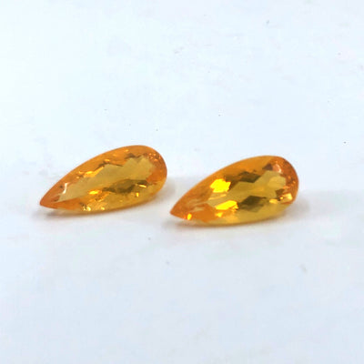 Pair of Mexican Fire Opals