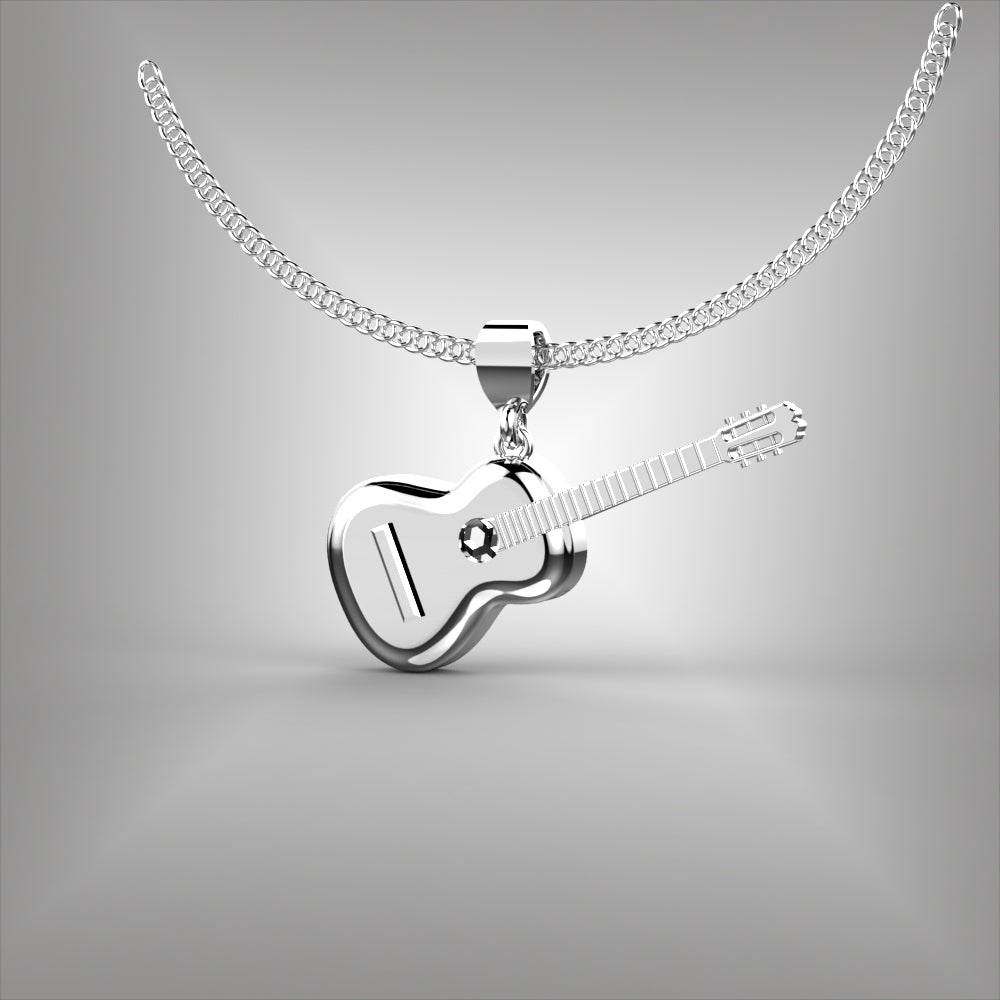 Acoustic Guitar Pendant