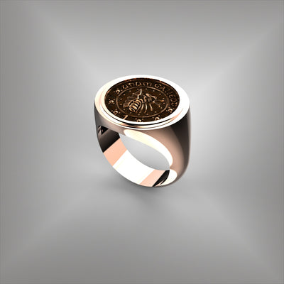 Coin Ring Bezel Set