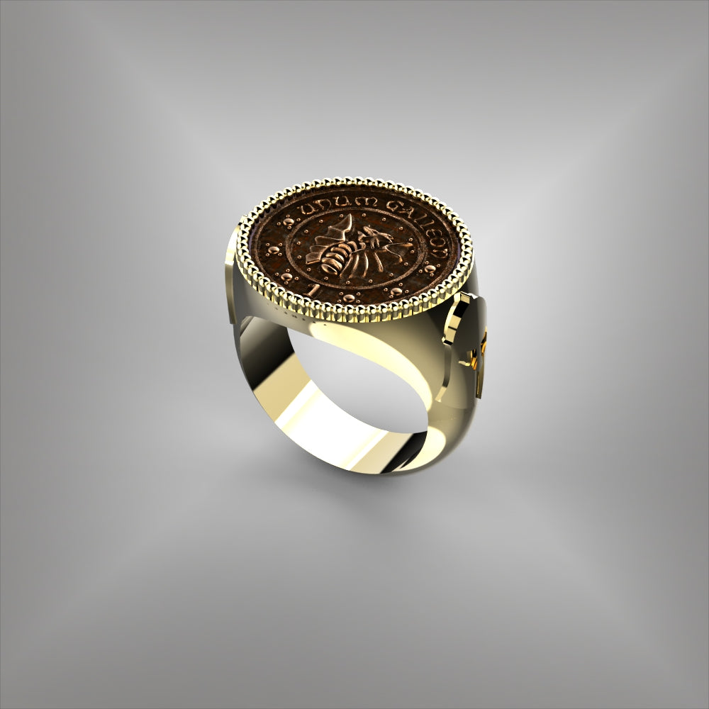 Coin Bezel Ring Test