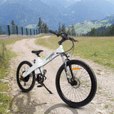 Ecotric Seagull Electric Mountain Bicycle - White
