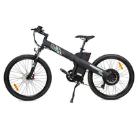 Ecotric Seagull Electric Mountain Bicycle - Matt Black
