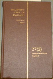 Halsbury's Laws of England: Vol 27, no 2