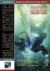 BLACK STATIC MAGAZINE ISSUE 43 NOVEMBER DECEMBER 2014 'DROWN TOWN', NEW HORROR FICTION