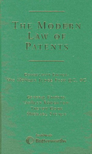 The Modern Law of Patents