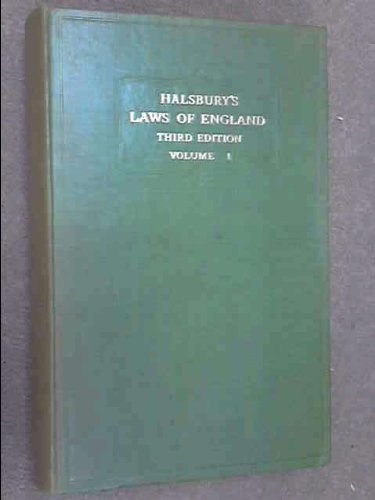 Halsbury's Laws of England, Fourth Edition - 17: Evidence, Execution, Executors and Administrators