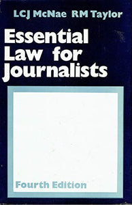 Essential Law for Journalists